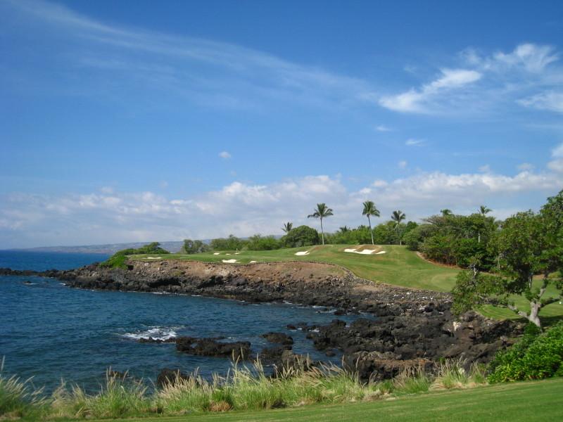 ハワイ旅行2009(3)ゴルフ: 葉桜日記